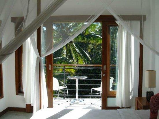 Villa Sancita: Balcony view from non-master room