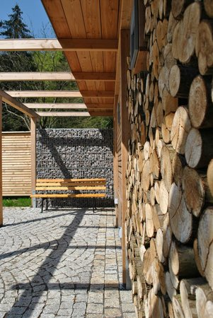 Hotel Waldmühle: Grillecke