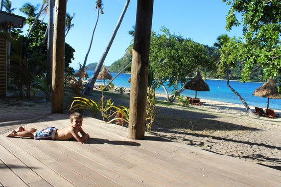Paradise Cove Resort: View from 2bedroom beachfront villa