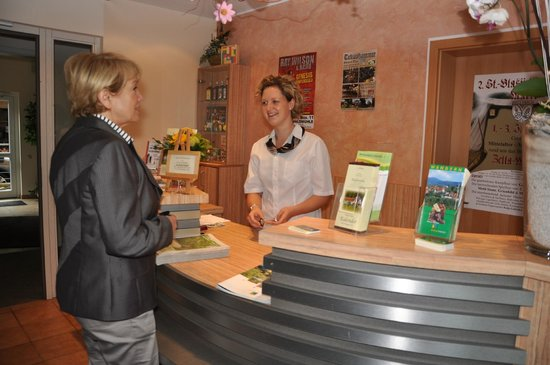 Hotel Waldmühle: Rezeption