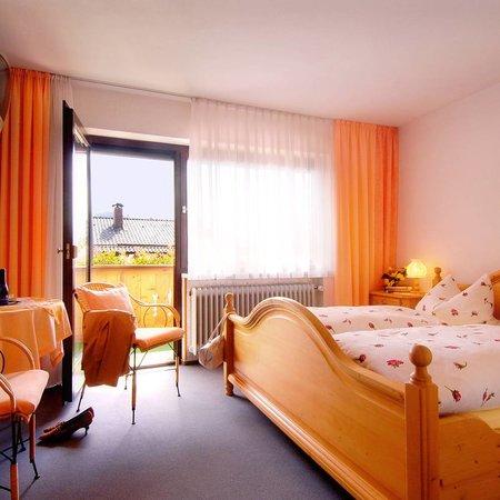 Haus Iris: Doppelzimmer mit Südbalkon