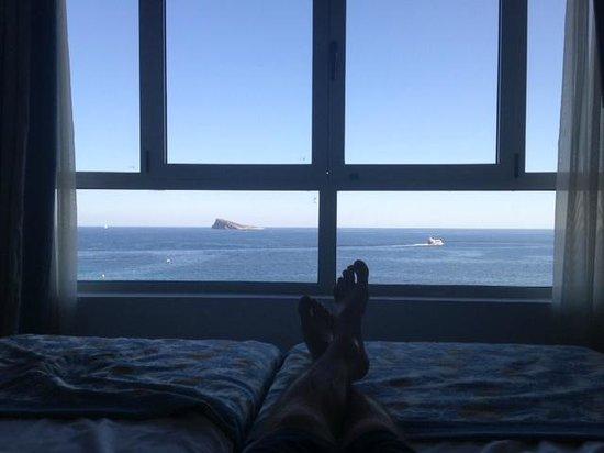 Villa Del Mar Hotel: Vue de la chambre
