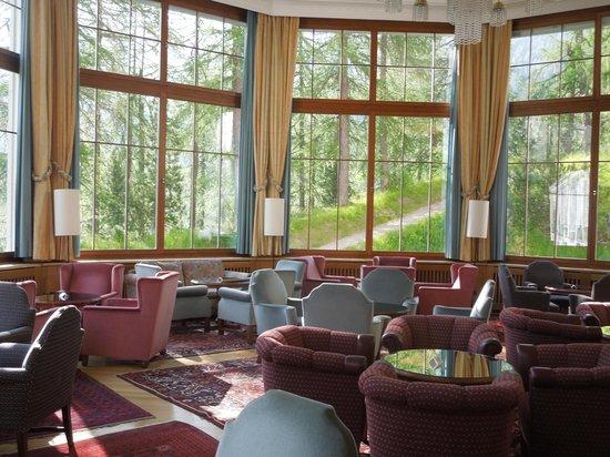 Hotel Waldhaus: Die grosse Halle