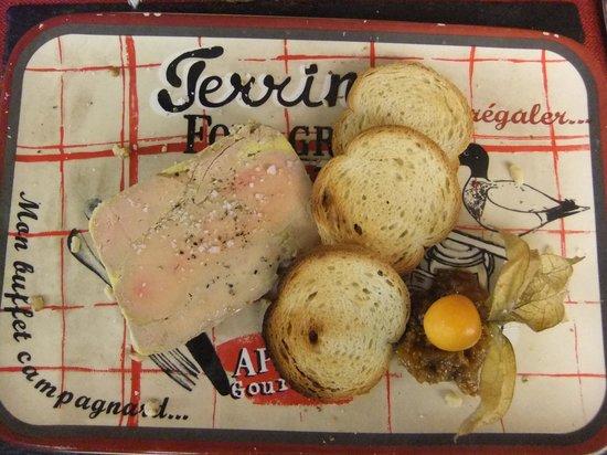 Le Pigeonnier: Foie gras de Canard