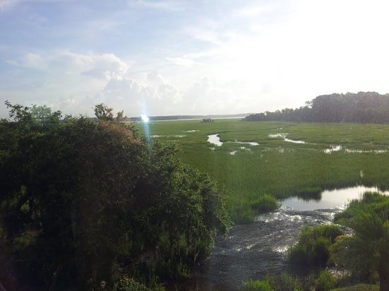 Holiday Inn & Suites Beaufort at Highway 21: Coastal Marsh view from our room