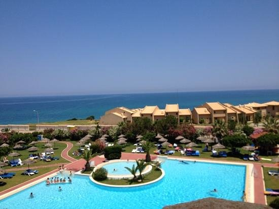 Golf Beach Hotel: panorama