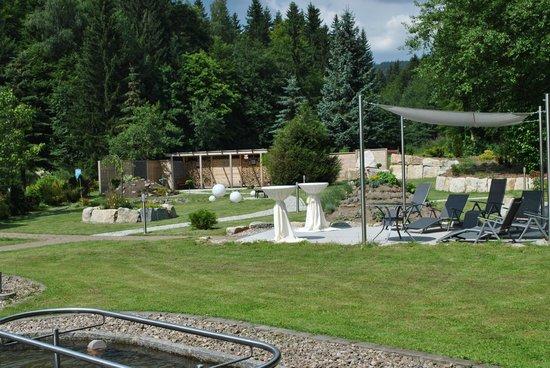 Hotel Waldmühle: Garten