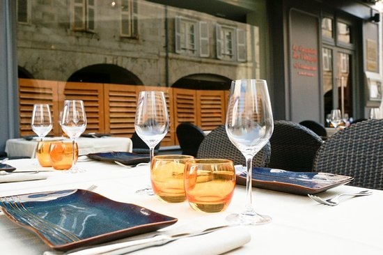 Le Comptoir Italien : Terrasse
