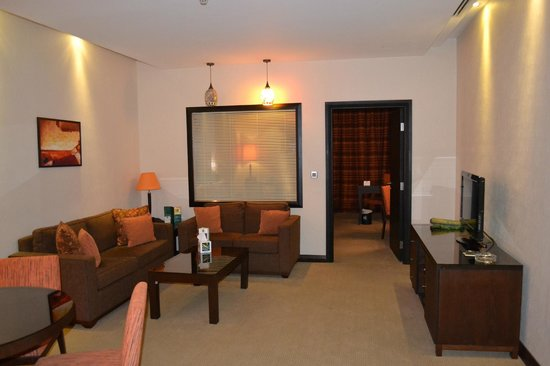 Ayass Hotel : Living room of the Suite