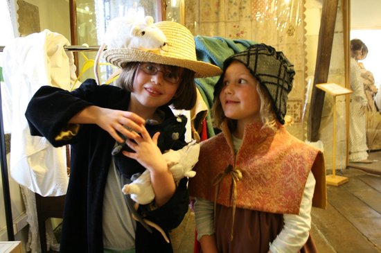 Bakewell Old House Museum: Enjoying the rat trail