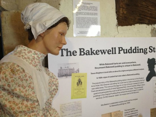 Bakewell Old House Museum: The Bakewell pudding story