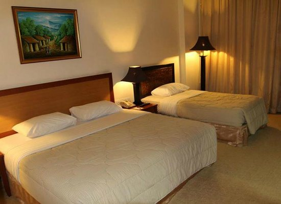 Golden View Hotel Batam: Inside view of the room