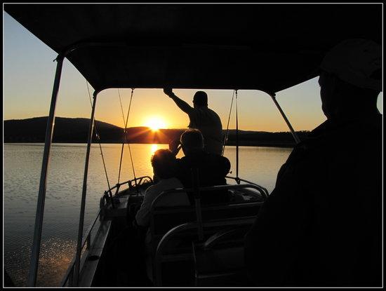 African Spirit Game Lodge: Boat cruise at sunset - Lake Jozini