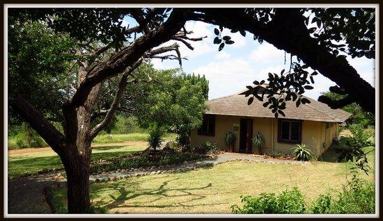African Spirit Game Lodge: Reception area