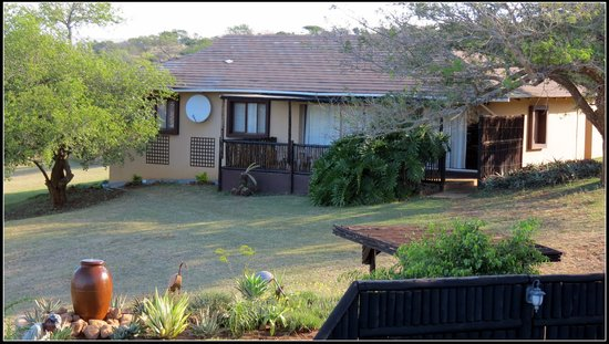 African Spirit Game Lodge: Exterior view of Self-Catering house