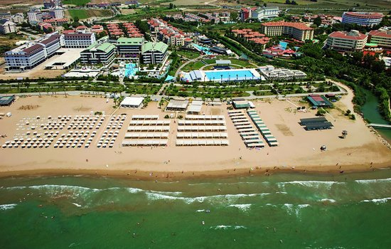 Sensimar Side Resort and Spa: Private Beach
