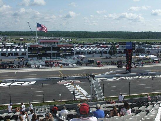 Pocono Raceway Track View