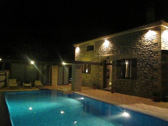 Falasarna Villas: quiet night
