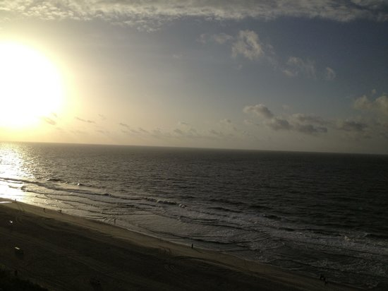 Camelot by the Sea, Oceana Resorts: Taken from 12th floor balcony at the Camelot in the early morning :-)