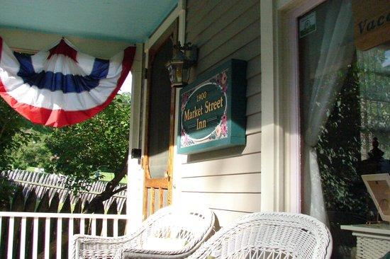 Market Street Inn: The Front Porch