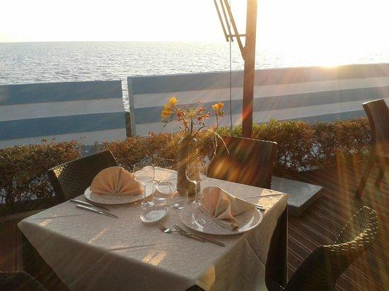 Sagapo Ristorante: terrazza sul mare
