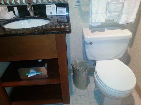 Clarion Hotel Portland Airport: Bathroom