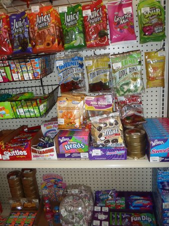 The Dollar Shop: North American Candy, can you say Willy Wonka?