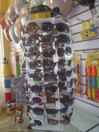 The Dollar Shop: Why not pick up some new Shades for the warm Dominican sun?