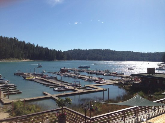 The Pines Resort: The view from our room