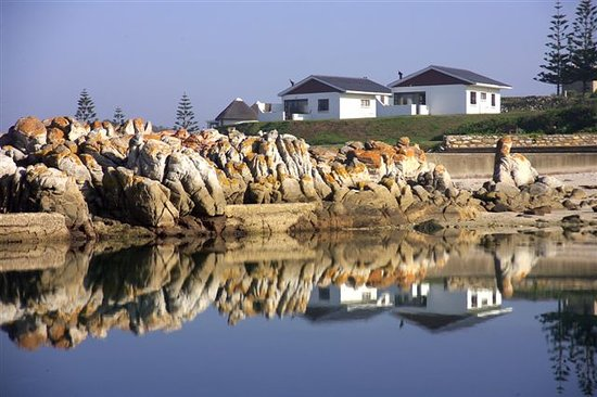 The Willows Resort & Conference Centre: Reflection on the clear water of the tidal pool.