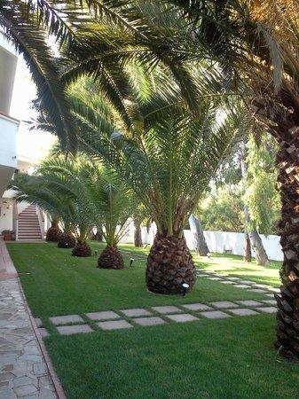 Hotel Mare Blue: una parte del giardino