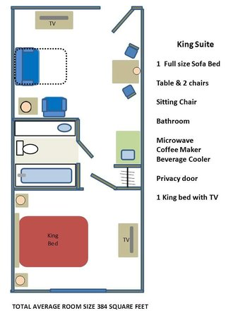 Country Inn & Suites by Radisson, Mount Morris, NY : King Suite-Maximum Occupancy 4