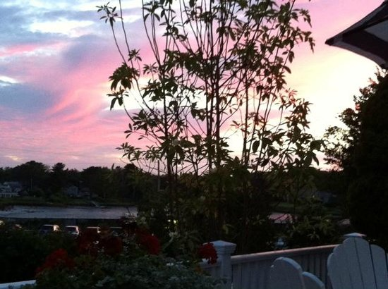Kennebunkport Inn: View from the deck