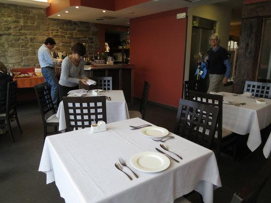 Saiaz Getaria Hotel: Sala desayuno