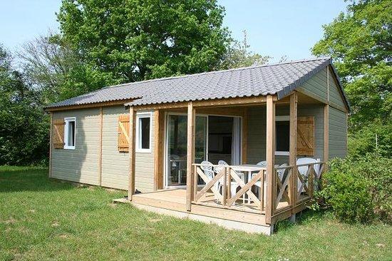 Camping du Lac : Chalet 3 chambres 6 personnes