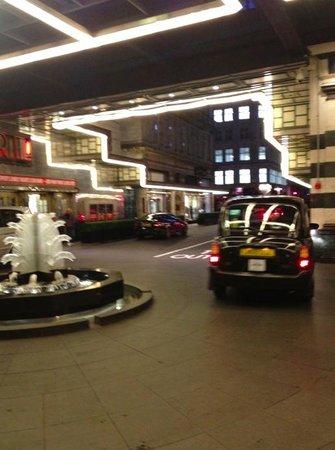 Savoy Hotel Valet Parking