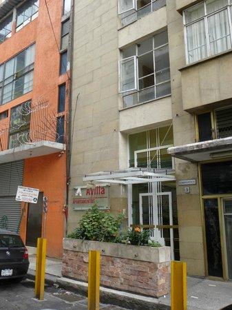 Apartamentos-Hotel Avilla : Hotel entrance