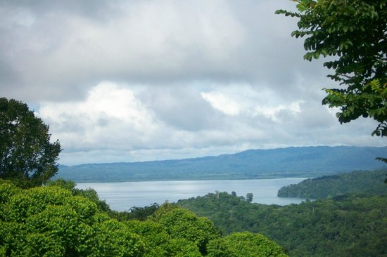 Cabinas El Mirador Lodge : View Overlooking Drake Bay