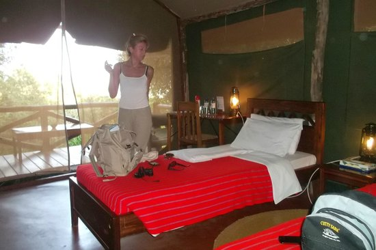 Kirurumu Manyara Lodge: habitacion