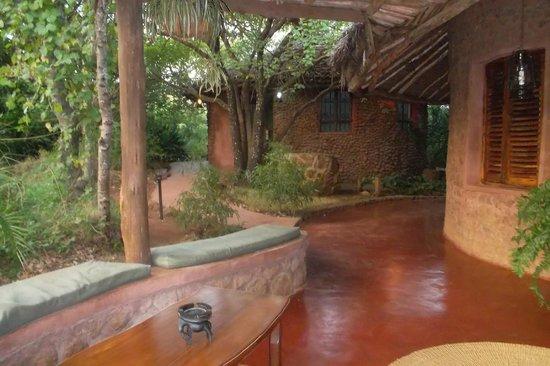 Kirurumu Manyara Lodge: recepcion