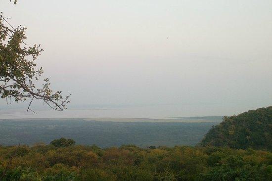 Kirurumu Manyara Lodge: vistas lago manyara