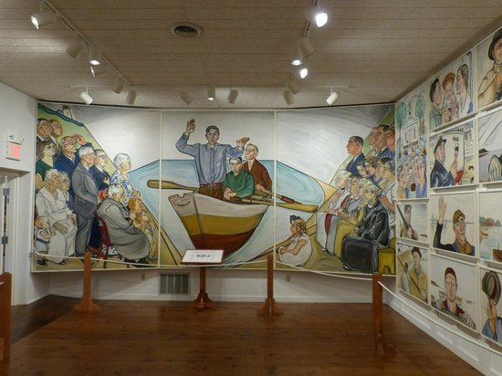 Atwood House & Museum: The Christ Mural by
