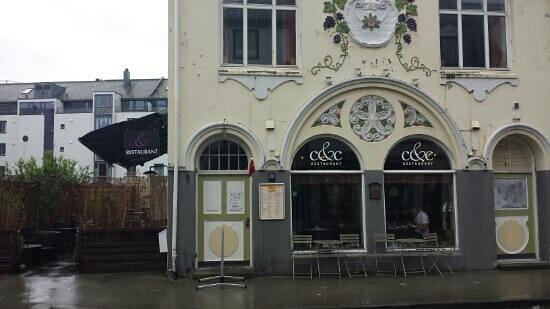 C & C: Store front