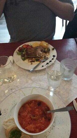 C & C: Bacalao & fresh fish plate