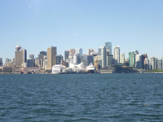 view from the Lonsdale Quay Hotel