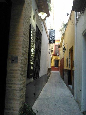 Hotel Boutique Casas de Santa Cruz: vicolo