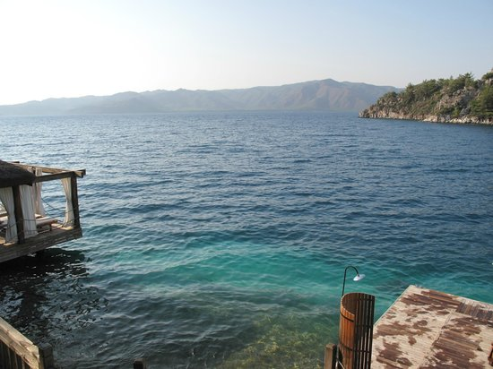 Angel's Marmaris Hotel : пляж