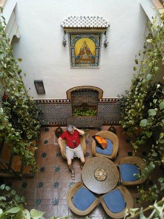 Hotel Boutique Casas de Santa Cruz: patio