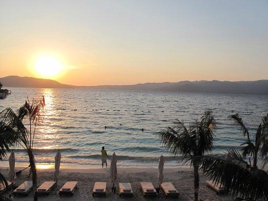 Angel's Marmaris Hotel : закат, пляж