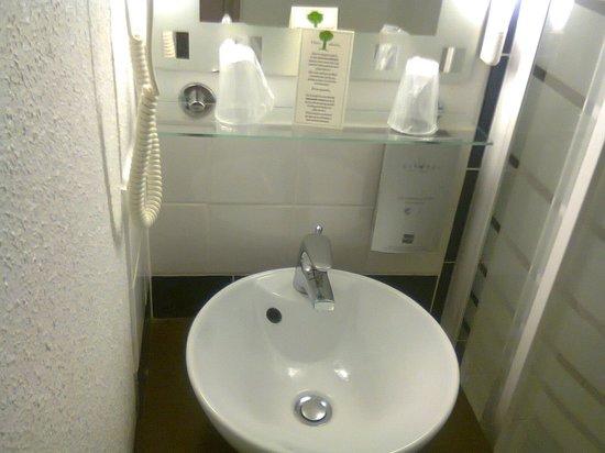Hotel de France et d'Europe : Salle de bain
